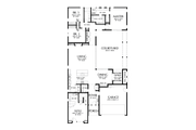 Contemporary Style House Plan - 4 Beds 3.5 Baths 2947 Sq/Ft Plan #48-1023 Floor Plan - Main Floor