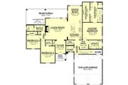 European Style House Plan - 3 Beds 2.5 Baths 2217 Sq/Ft Plan #430-131 Floor Plan - Main Floor