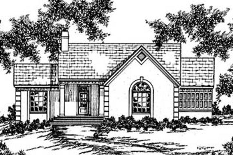 House Design - European Exterior - Front Elevation Plan #36-153