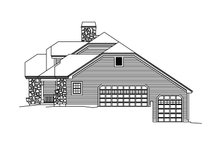 Country Exterior - Other Elevation Plan #57-691