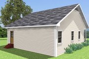 Country Style House Plan - 2 Beds 1 Baths 1007 Sq/Ft Plan #44-158 Exterior - Other Elevation