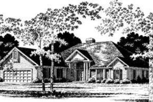 Traditional Exterior - Front Elevation Plan #328-153