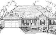 Traditional Style House Plan - 4 Beds 3 Baths 2623 Sq/Ft Plan #31-101 Exterior - Front Elevation