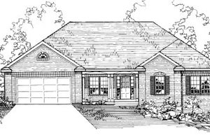House Design - Traditional Exterior - Front Elevation Plan #31-101