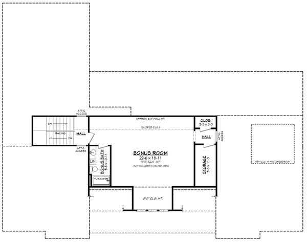 Architectural House Design - Farmhouse Floor Plan - Other Floor Plan #430-224