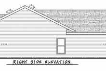 Dream House Plan - Traditional Exterior - Other Elevation Plan #20-2342