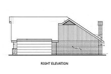 Home Plan Design - Ranch Exterior - Other Elevation Plan #45-109