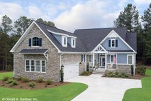 Dream House Plan - Craftsman Exterior - Front Elevation Plan #929-609