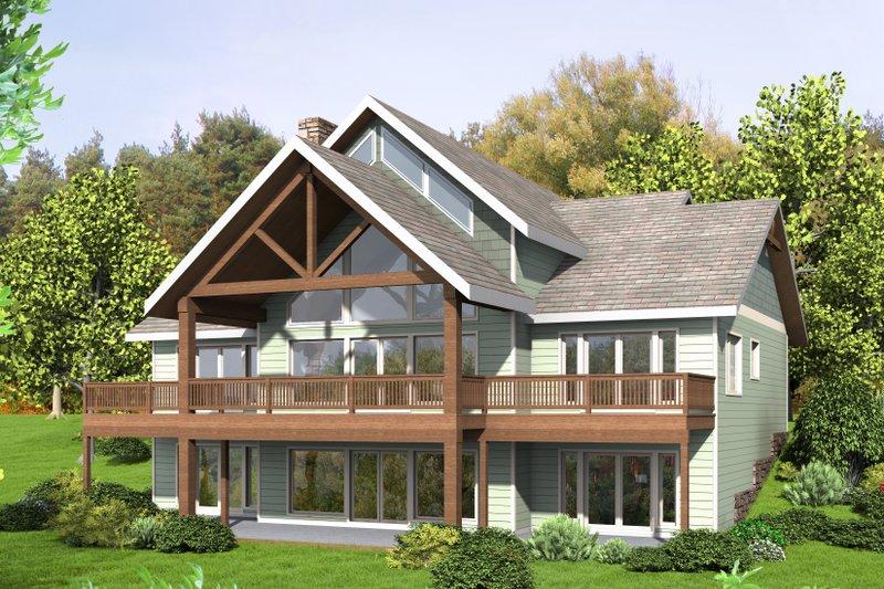 House Design - Craftsman Exterior - Front Elevation Plan #117-900