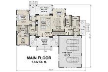 Farmhouse Floor Plan - Main Floor Plan Plan #51-1130