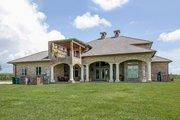 Mediterranean Style House Plan - 4 Beds 4.5 Baths 3474 Sq/Ft Plan #930-276 Exterior - Rear Elevation