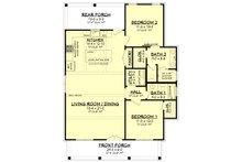 Farmhouse Floor Plan - Main Floor Plan Plan #430-227