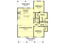 Farmhouse Floor Plan - Main Floor Plan Plan #430-227