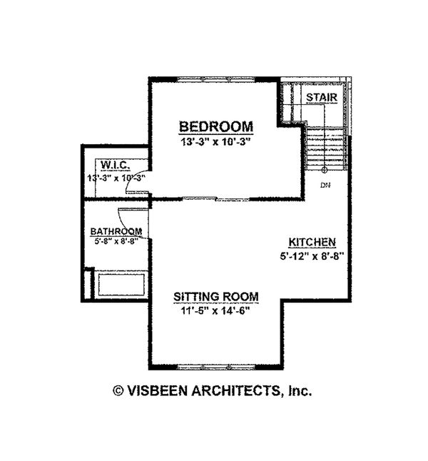 Architectural House Design - Farmhouse Floor Plan - Other Floor Plan #928-10