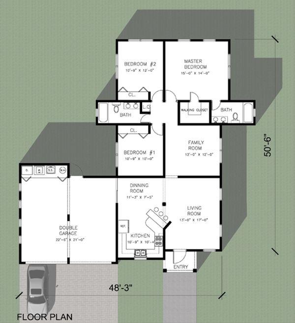 Floor Plan - Main Floor Plan Plan #495-2