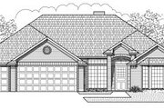 Traditional Style House Plan - 4 Beds 2 Baths 2108 Sq/Ft Plan #65-483 Exterior - Front Elevation