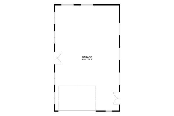 European Floor Plan - Main Floor Plan #1060-73
