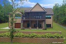 House Plan Design - Craftsman Exterior - Rear Elevation Plan #929-1040