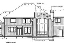 Home Plan - European Exterior - Rear Elevation Plan #94-209