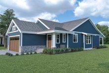 Dream House Plan - Craftsman Exterior - Other Elevation Plan #1070-79