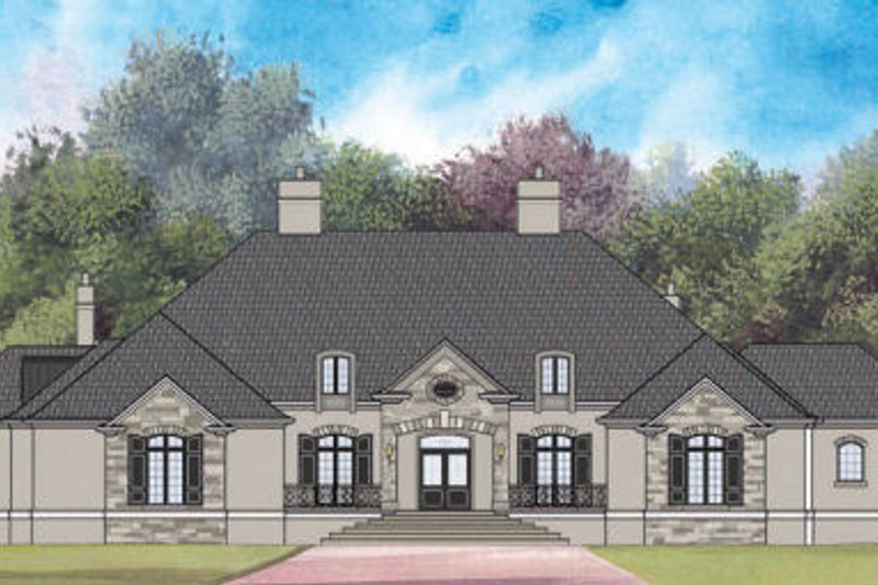 Home Plan - European Exterior - Other Elevation Plan #119-350