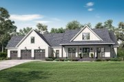 Farmhouse Style House Plan - 4 Beds 3.5 Baths 2763 Sq/Ft Plan #430-205 Exterior - Front Elevation