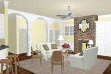 Craftsman Interior - Other Plan #44-186
