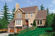 House Plan Design - Traditional Exterior - Front Elevation Plan #48-397