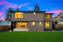 House Plan Design - Contemporary Exterior - Rear Elevation Plan #1066-62