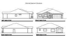 House Design - Traditional Exterior - Other Elevation Plan #124-822