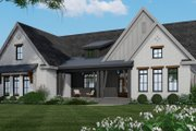 Farmhouse Style House Plan - 3 Beds 2.5 Baths 2364 Sq/Ft Plan #51-1159 Exterior - Front Elevation