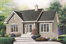 Home Plan - European Exterior - Front Elevation Plan #23-195
