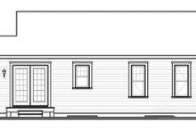 Ranch Exterior - Rear Elevation Plan #23-2199