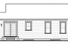 Ranch Exterior - Rear Elevation Plan #23-2199