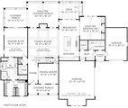 Farmhouse Style House Plan - 4 Beds 3.5 Baths 3025 Sq/Ft Plan #927-1025