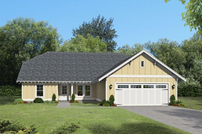 House Plan Design - Cottage Exterior - Front Elevation Plan #932-325