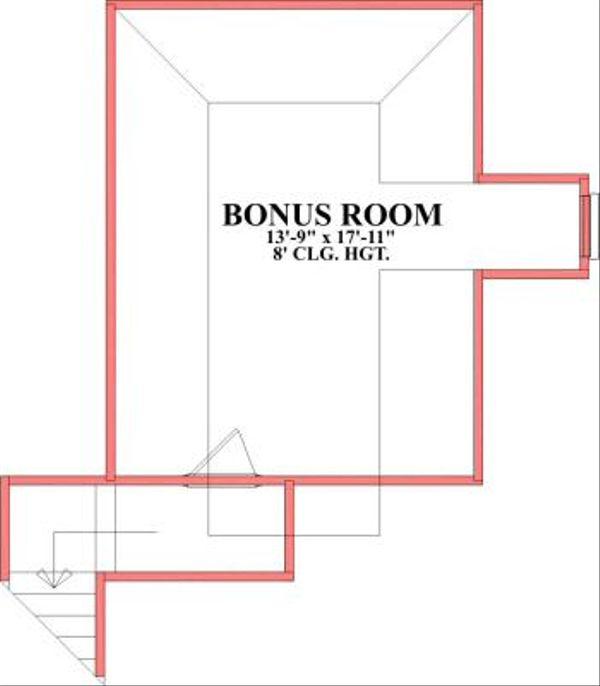 European Floor Plan - Other Floor Plan Plan #63-165
