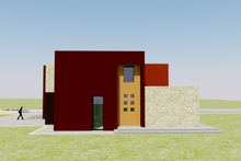 Home Plan Design - Left Side