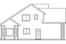 Dream House Plan - Traditional Exterior - Other Elevation Plan #124-767