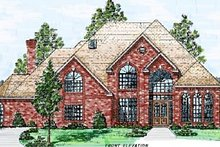 Architectural House Design - European Exterior - Front Elevation Plan #52-119