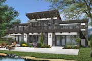 Beach Style House Plan - 3 Beds 2.5 Baths 2527 Sq/Ft Plan #23-1031 Exterior - Front Elevation