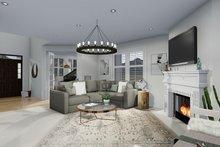 Craftsman Interior - Family Room Plan #1060-65