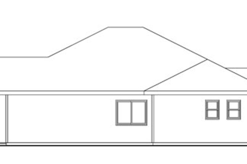 Craftsman Exterior - Other Elevation Plan #124-776 - Houseplans.com