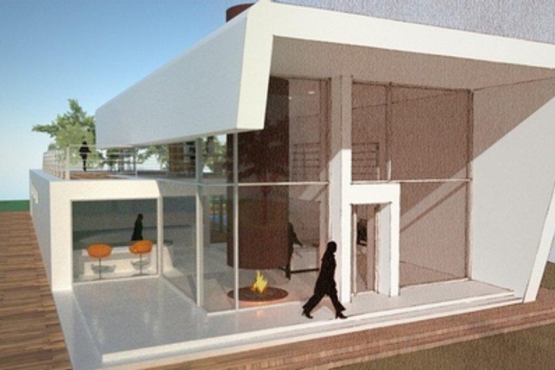 Modern Style House Plan - 3 Beds 2 Baths 3160 Sq/Ft Plan #473-1
