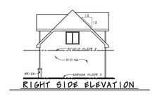 Traditional Exterior - Other Elevation Plan #20-2372
