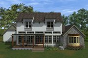 Traditional Style House Plan - 3 Beds 2.5 Baths 2164 Sq/Ft Plan #933-4