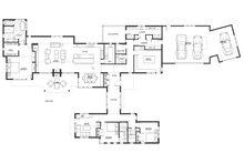 Contemporary Floor Plan - Main Floor Plan Plan #892-21