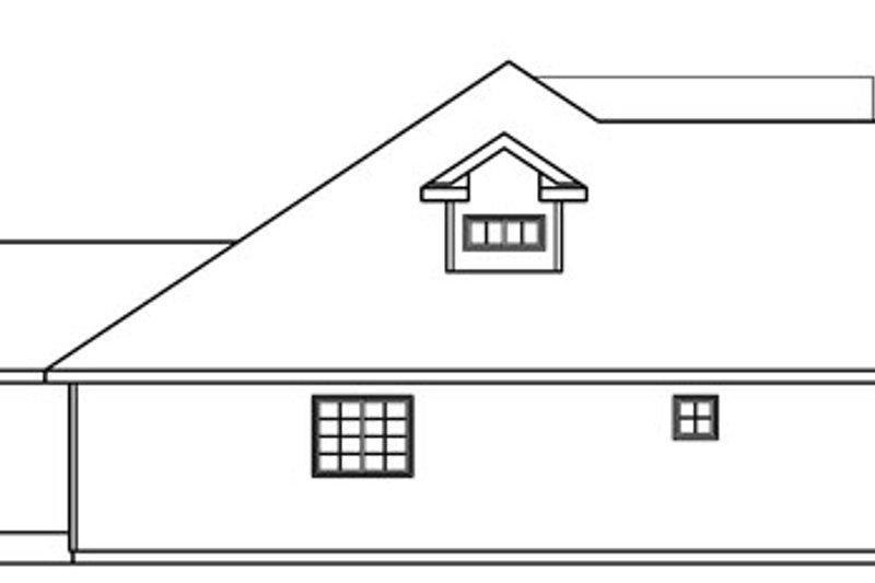 Exterior - Other Elevation Plan #124-716 - Houseplans.com