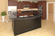 Country Interior - Kitchen Plan #21-307
