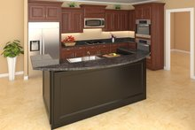 Country Interior - Kitchen Plan #21-307